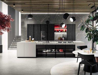 Итальянская кухня AMARI фабрики MITON CUCINE