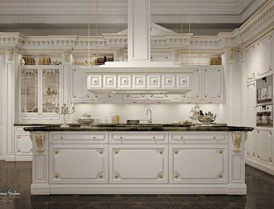Итальянская кухня Romantica ivory and gold фабрики Modenese Gastone