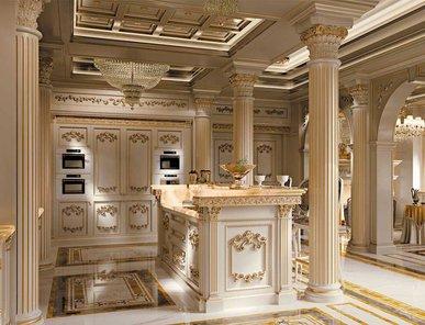 Итальянская кухня Royal Ivory фабрики Modenese Gastone