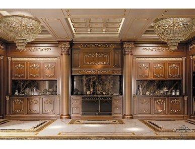 Итальянская кухня Royal Walnut фабрики Modenese Gastone