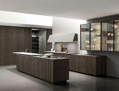 Итальянская кухня FLOAT 02 фабрики MODULNOVA