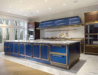 Итальянская кухня SAPPHIRE BLUE фабрики OFFICINE GULLO