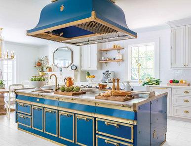 Итальянская кухня OCEAN BLUE фабрики OFFICINE GULLO