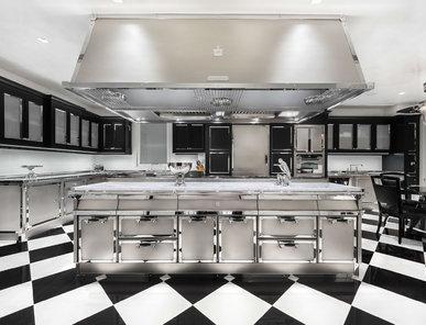 Итальянская кухня STAINLESS STEEL фабрики OFFICINE GULLO