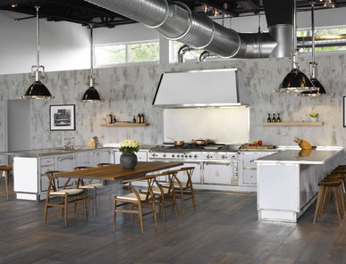 Итальянская кухня MILK WHITE фабрики OFFICINE GULLO