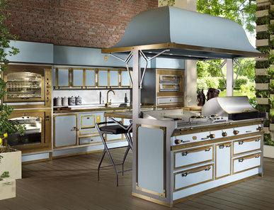 Итальянская кухня PACIFIC LIGHT BLUE фабрики OFFICINE GULLO