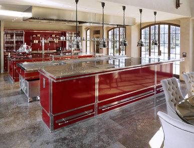Итальянская кухня RUBIN RED фабрики OFFICINE GULLO