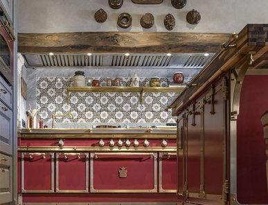 Итальянская кухня CHIANTI RED фабрики OFFICINE GULLO