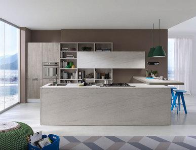 Итальянская кухня SYSTEM 01 фабрики PEDINI