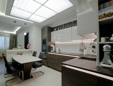 Итальянская кухня Design 09 фабрики PLATINO MOBILI