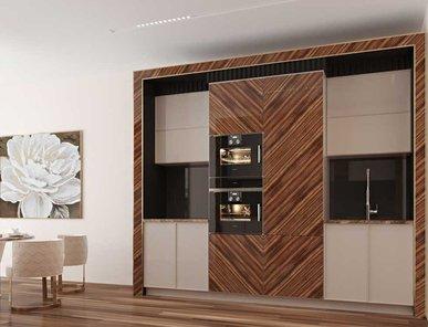 Итальянская кухня Makassar 3D 01 фабрики PLATINO MOBILI