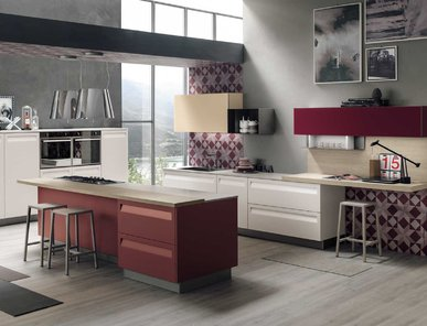 Итальянская кухня REWIND 04 фабрики STOSA