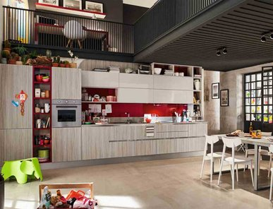 Итальянская кухня CARRERA 08 фабрики VENETA CUCINE