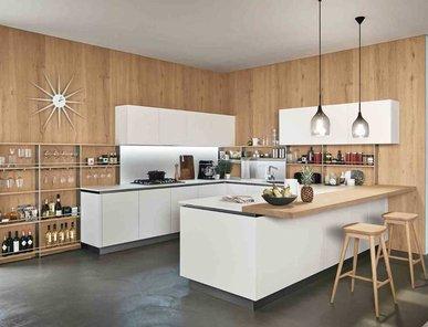 Итальянская кухня OYSTER 01 фабрики VENETA CUCINE
