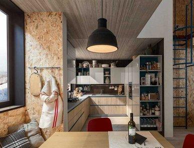 Итальянская кухня START TIME 04 фабрики VENETA CUCINE