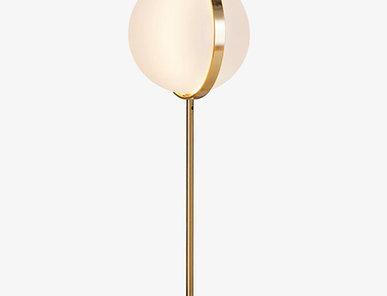 Итальянская настольная лампа Orion фабрики Baroncelli