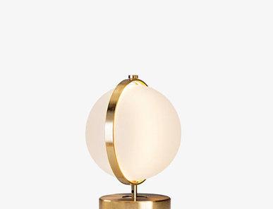 Итальянская настольная лампа Orion S фабрики Baroncelli