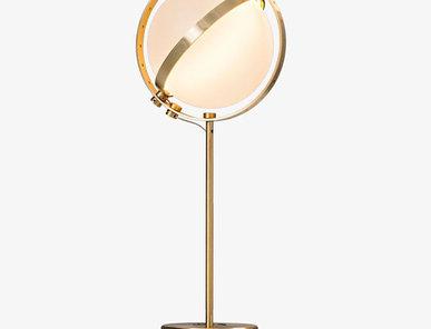 Итальянская настольная лампа Vega фабрики Baroncelli