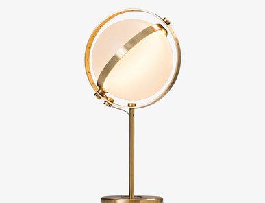 Итальянская настольная лампа Vega M фабрики Baroncelli