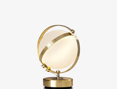 Итальянская настольная лампа Vega S фабрики Baroncelli