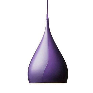 Светильник Spinning Light BH1 Violet от дизайнера Benjamine Hubert