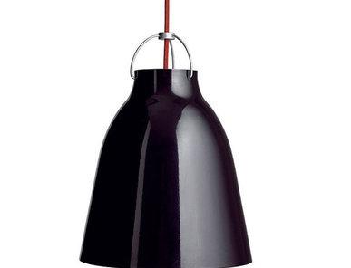 Люстра Caravaggio Black 25 от дизайнера Cecilie Manz