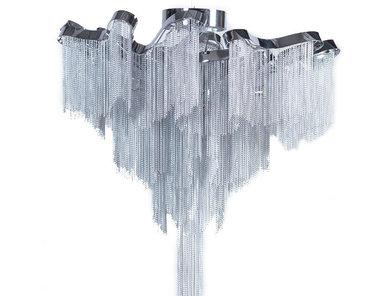 Итальянская потолочная люстра Stream от дизайнера Christian Lava