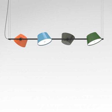 Люстра Marset Tam Tam 4 от дизайнера Fabien Dumas