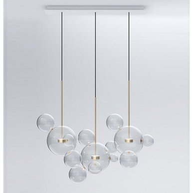 Светильник Bolle Linear 14 Bubbles от дизайнеров Giapato & Coombes