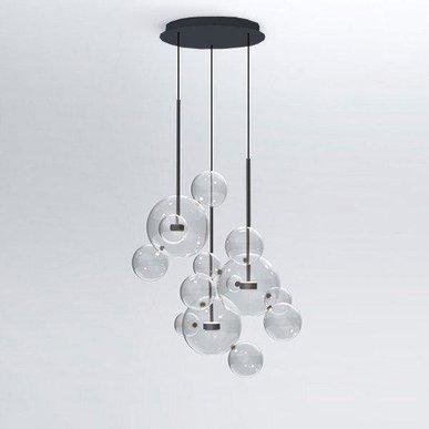 Светильник Bolle Circular 14 Bubbles Black от дизайнеров Giapato & Coombes