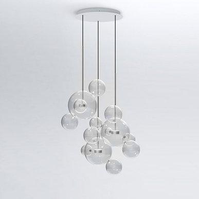 Светильник Bolle Circular 14 Bubbles Nickel от дизайнеров Giapato & Coombes