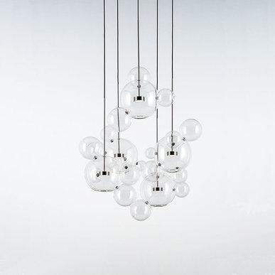 Светильник Bolle Circular 24 Bubbles от дизайнеров Giapato & Coombes
