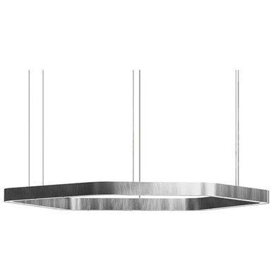Люстра Light Ring Horizontal Polygonal D100 Nickel от дизайнера Massimo Castagna