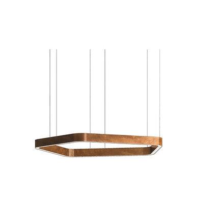 Люстра Light Ring Horizontal Polygonal D60 Copper от дизайнера Massimo Castagna