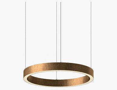 Люстра Light Ring Horizontal D60 Copper от дизайнера Massimo Castagna