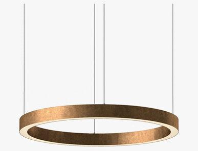 Люстра Light Ring Horizontal D80 Copper от дизайнера Massimo Castagna