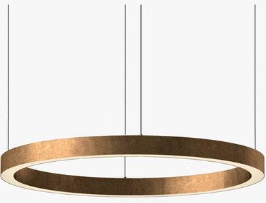 Люстра Light Ring Horizontal D100 Copper от дизайнера Massimo Castagna