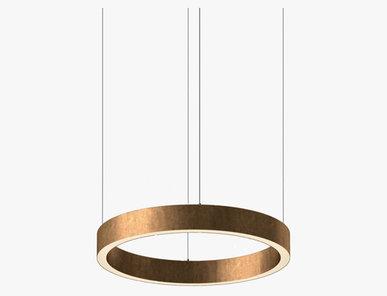 Люстра Light Ring Horizontal D50 Copper от дизайнера Massimo Castagna