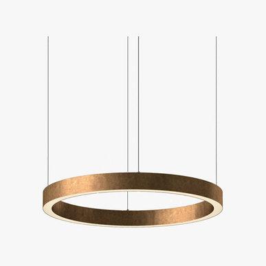 Люстра Light Ring Horizontal D70 Copper от дизайнера Massimo Castagna