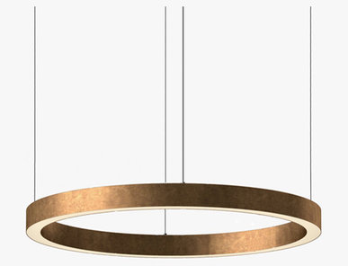 Люстра Light Ring Horizontal D90 Copper от дизайнера Massimo Castagna