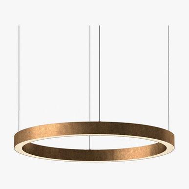 Люстра Light Ring Horizontal D90 Copper от дизайнера Massimo Castagna