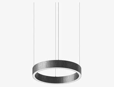 Люстра Light Ring Horizontal D40 Nickel от дизайнера Massimo Castagna