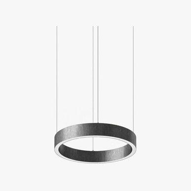 Люстра Light Ring Horizontal D40 Nickel от дизайнера Massimo Castagna