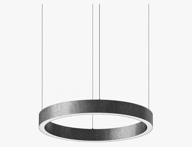 Люстра Light Ring Horizontal D60 Nickel от дизайнера Massimo Castagna
