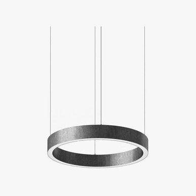 Люстра Light Ring Horizontal D50 Nickel от дизайнера Massimo Castagna