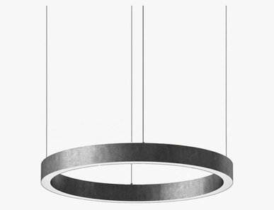 Люстра Light Ring Horizontal D70 Nickel от дизайнера Massimo Castagna