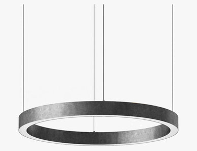 Люстра Light Ring Horizontal D90 Nickel от дизайнера Massimo Castagna
