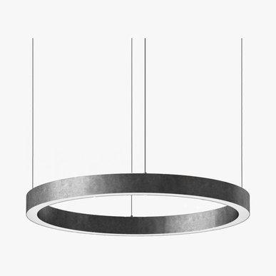 Люстра Light Ring Horizontal D90 Nickel от дизайнера Massimo Castagna