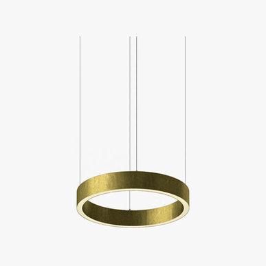 Люстра Light Ring Horizontal D40 Brass от дизайнера Massimo Castagna