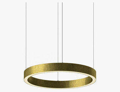 Люстра Light Ring Horizontal D60 Brass от дизайнера Massimo Castagna